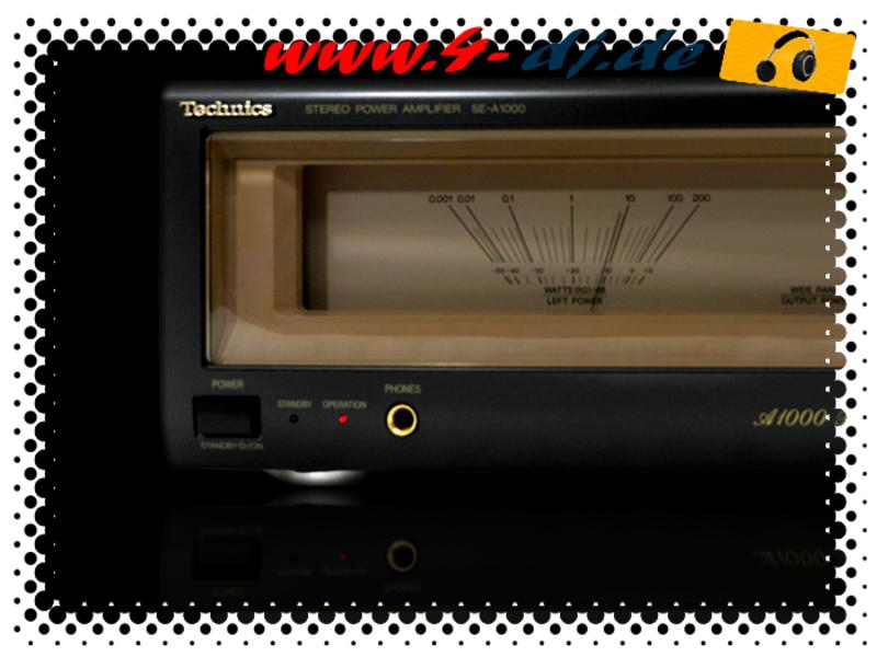 Technics SE-A1000