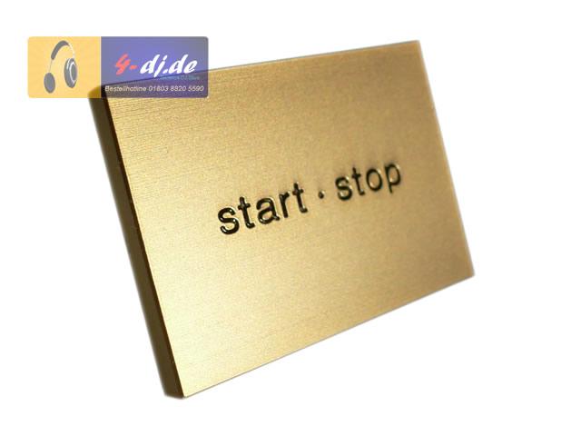 Start/Stop Taste SL-12XX GLD