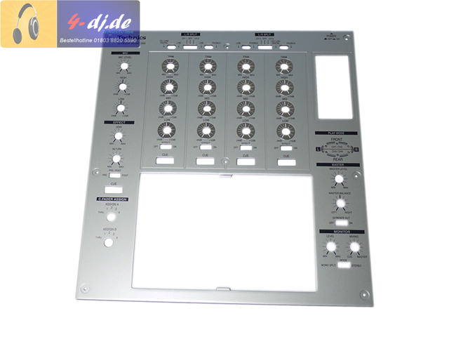 SH-MZ1200 Top Panel silber