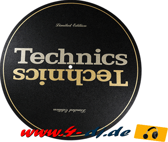 original Technics Gold Limited Edition Slip Mat