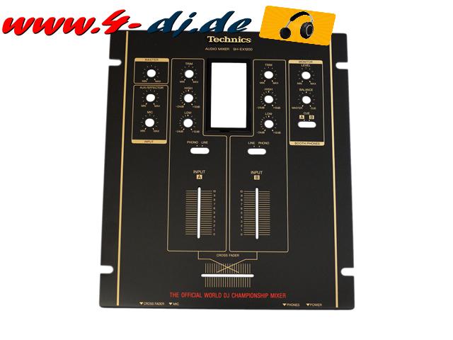 SH-EX1200 Oberteil Top Panel