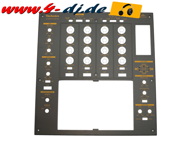 SH-MZ1200 Top Panel schwarz