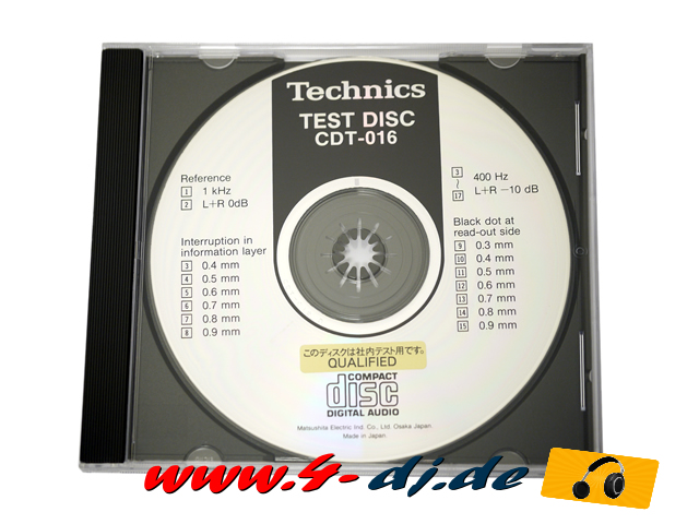 Service Test DISC CD